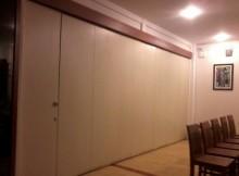 cara mengatur ruangan menggunakan pintu lipat geser